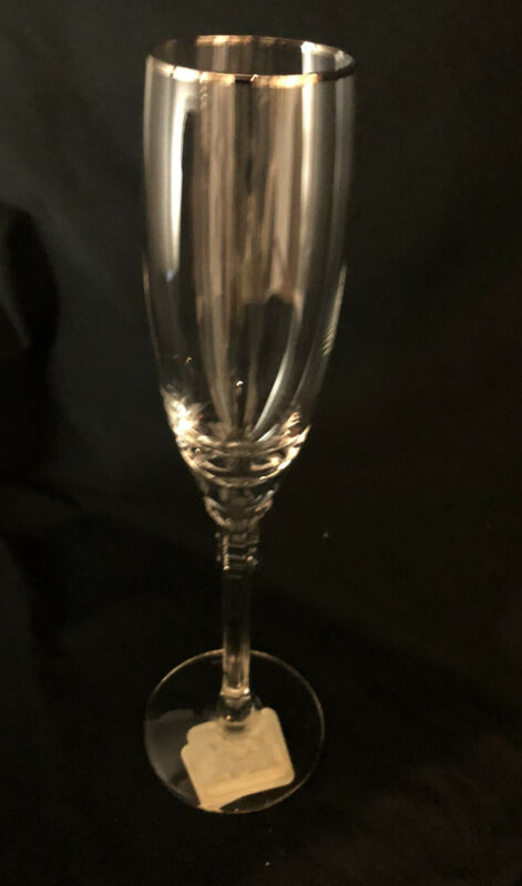 Lenox Phoenix Fluted Champagne Glass ~new~