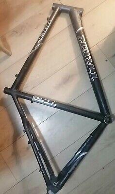 """Trek 4300 Aluminium 22"""" Bike Cycle Frame matt black and Mercury grey caliper fit"""