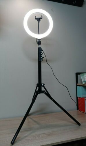 10 inches Selfie Ring Light with Tripod Stand 41-72 Inches Tall new in box
