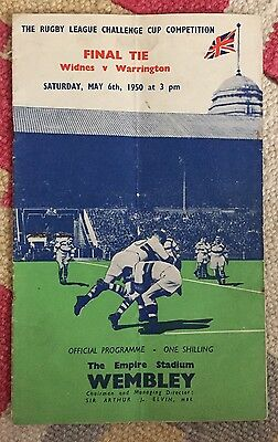 1950 Rugby League Cup FInal:- WIDNES v WARRINGTON