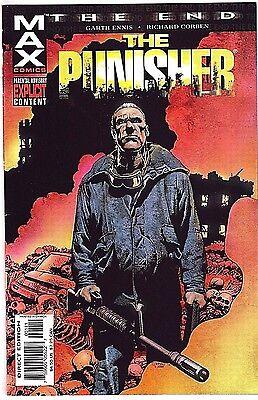 PUNISHER: THE END#1 NM 2004 RICHARD CORBEN MARVEL COMICS