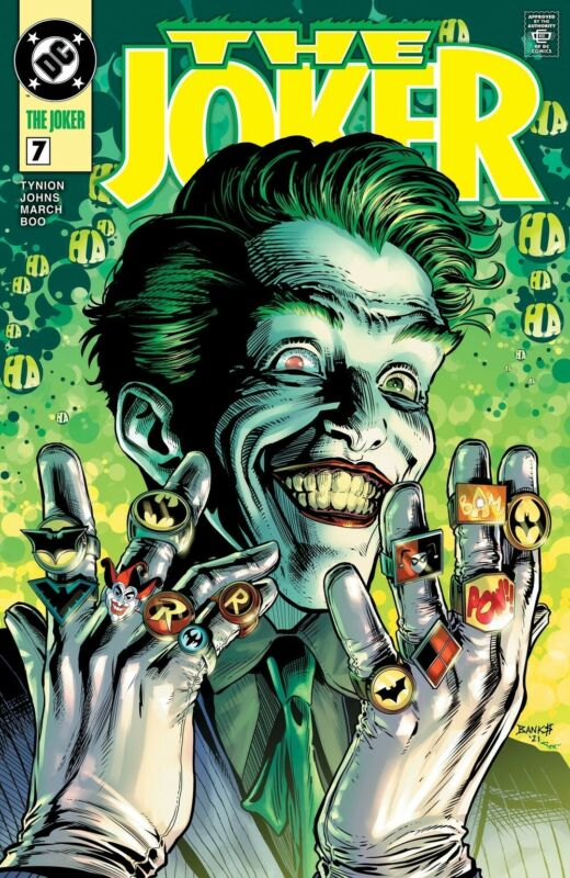 The Joker #7 Darryl Banks Green Lantern Homage Exclusive Cover PREORDER