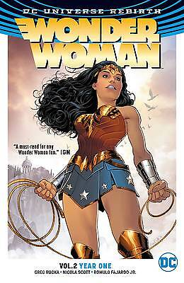 WONDER WOMAN VOL 2 YEAR ONE TPB GREG RUCKA DC (Wonder Woman Vol 2 Year One Rebirth)