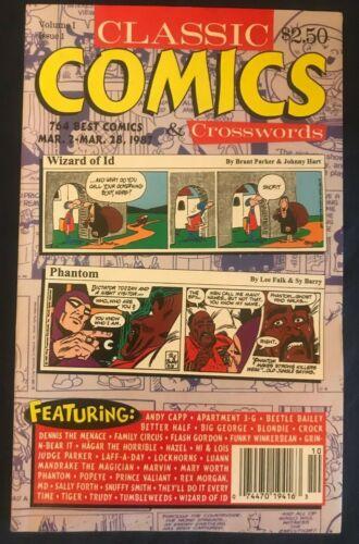 Classic Comics & Crosswords (Vol 1 Issue 1 - Mar 2 - Mar 28 1987)