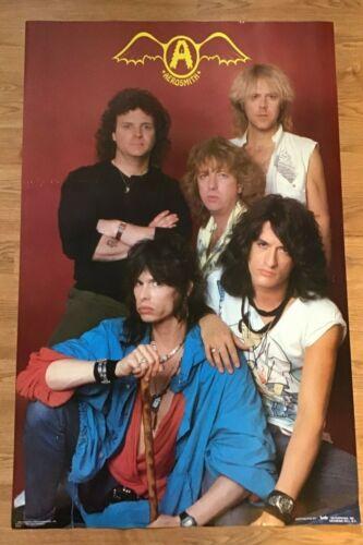 Aerosmith Svengali Mdse Inc.Ron Pownall Photo Funky Inc. 22X34 Poster #3006-1984