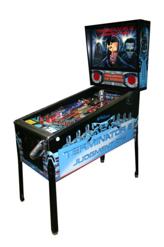 WILLIAMS TERMINATOR 2 PINBALL MACHINE -LEDs throughout -GREAT CONDITION