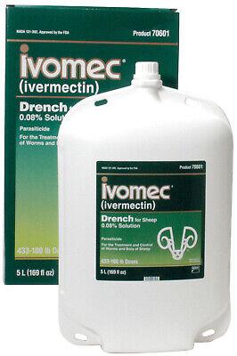 Ivomec Sheep Oral Wormer Drench 5 Liter