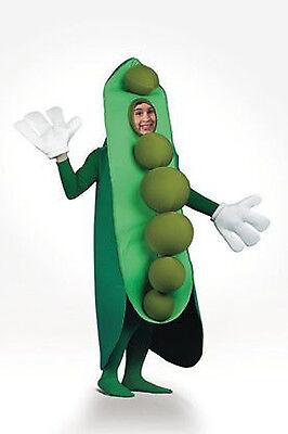 Erwachsene Peas in A Pod Gesundes Nahrung Gemüse Kostüm (Pea Pod Kostüm)