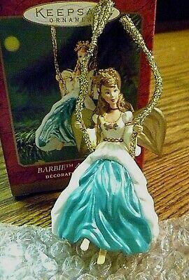 Hallmark Keepsake Ornament Barbie Angel Of Joy 2000 Christmas