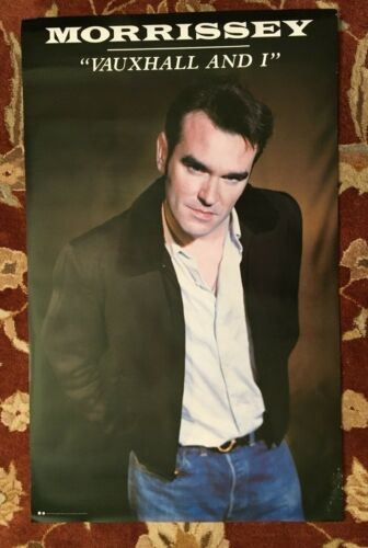 MORRISSEY  Vauxhall And I  rare original promotional poster from 1994