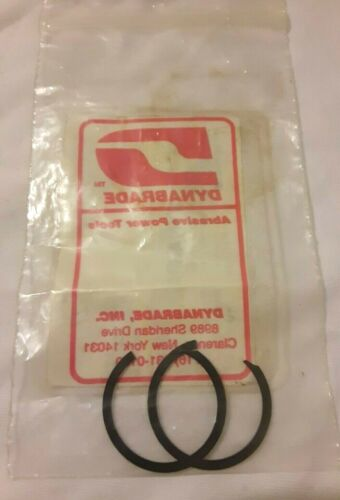 Dynabrade 95630 Snap Retaining Rings - 2pcs