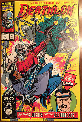 Deathlok Comics - Various - [1991-1994] - 8 Comics