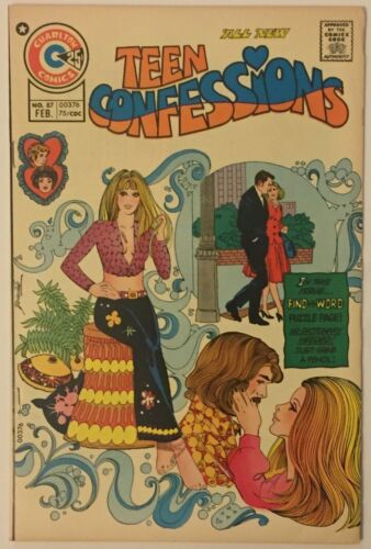 Teen Confessions 87 mod cover, high grade!