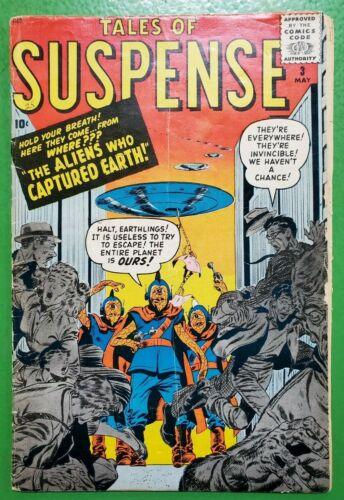 TALES OF SUSPENSE #3 1959 ATLAS/MARVEL GD