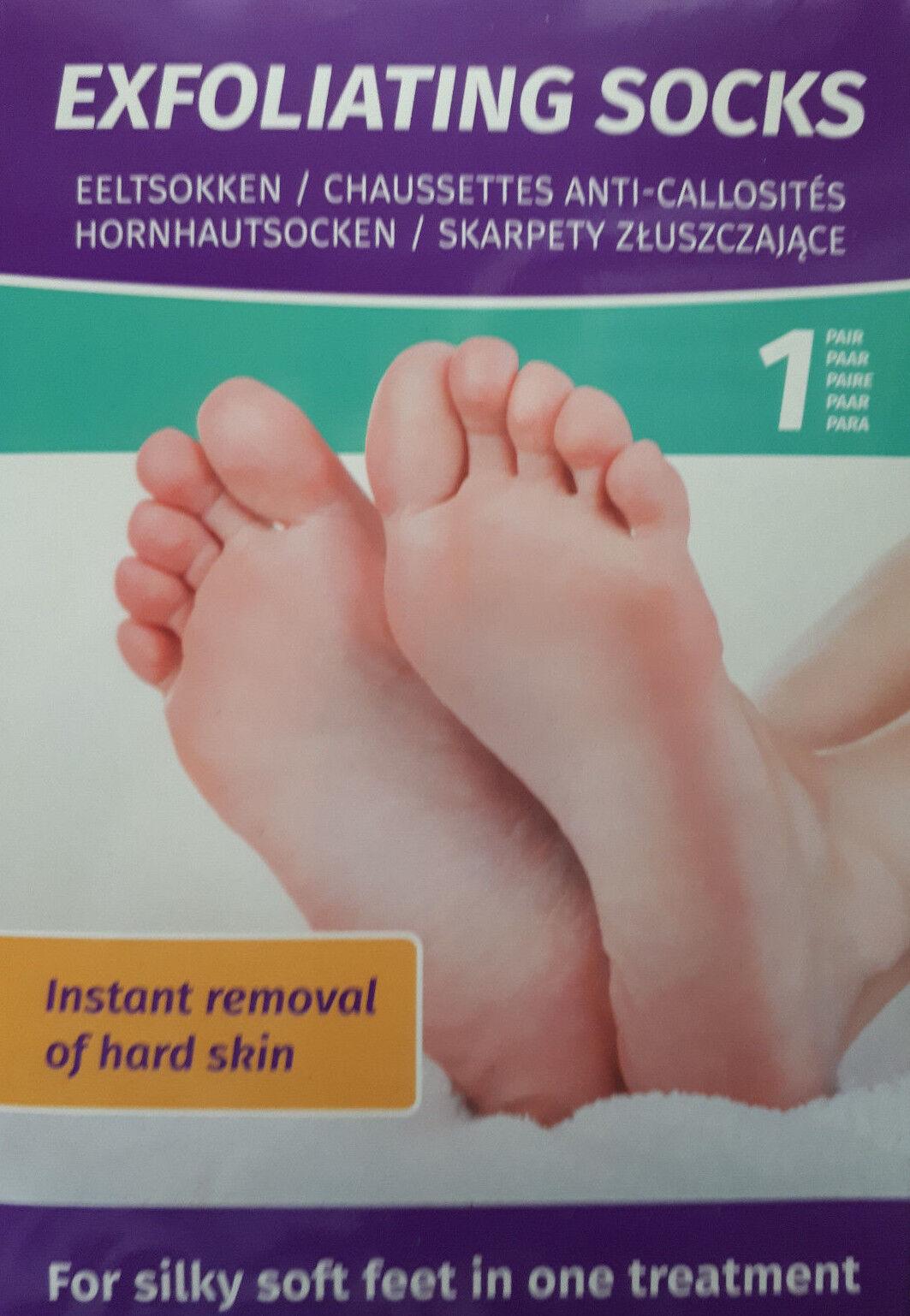 Anti Hornhaut Socken 1 Paar Hornhautentferner Peeling Fußpflege