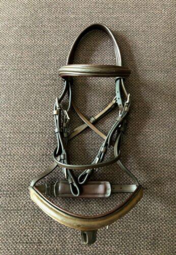 Cob-size VESPUCCI Fancy-stitch Hunter /jumper bridle- CHEAP! Retail $365+