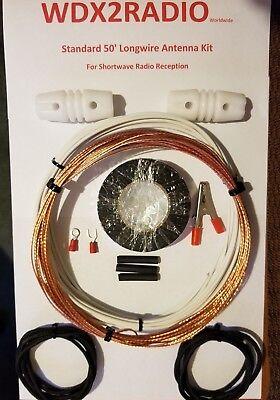 Shortwave Radio Antenna   *The Worldwide*  50' Outdoor Longw