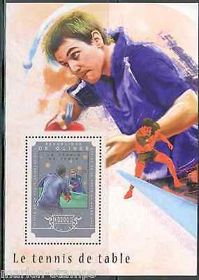 GUINEA 2014 TABLE TENNIS (PING PONG)  SOUVENIR SHEET MINT NH