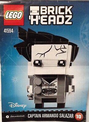 LEGO Disney BrickHeadz - Captain Armando Salazar - 41594