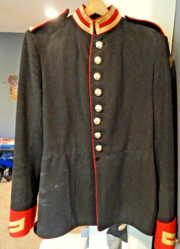 BLUES & ROYALS TROOPER'S TUNIC, USED w/ WONDERFUL CHARACTER !