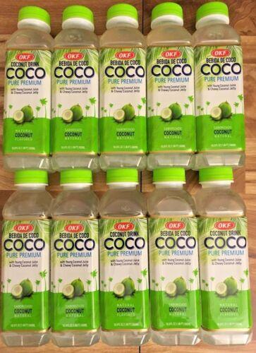 OKF Pure Premium Coconut Drink - 16.9 fl. oz. (10 pack)