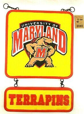 University of Maryland Terrapins Logo 2 PC Sign by New Creative Enterprises NIB](University Of Maryland Logo)