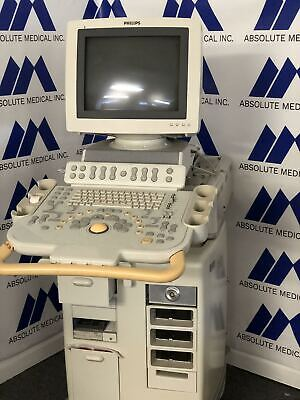 Philips Hd11 Ultrasound Machine For Parts Selling As-is