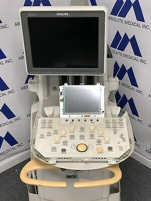 Philips Iu22 Ultrasound Machine For Parts Selling As-is