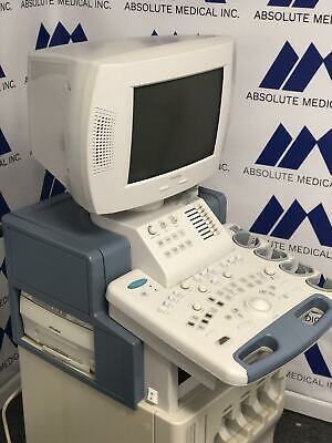 Toshiba Nemio 20 Ultrasound Machine System For Parts Sold As-is