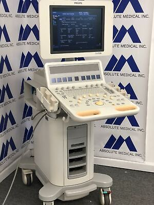 Philips Hd15 Ultrasound System Box Only Probes Available For Purchase Separate