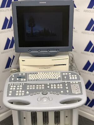 Siemens Acuson Sequoia C512 Ultrasound System As-is With Cardiac Probe