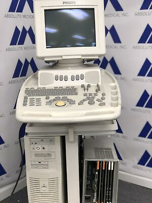 Philips Envisor For Parts 2 Ultrasound System Selling As-is