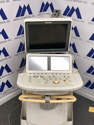 Ie33 Ultrasound Machine For Parts Sold As-is