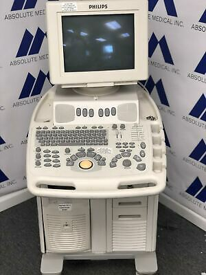 Philips Envisor C Hd Ultrasound System For Parts Sold As-is