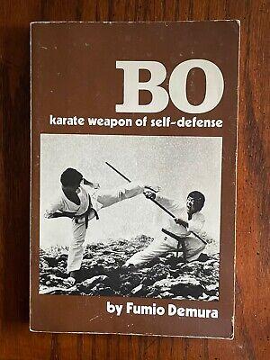 Three Book Set, Bo, Sai, Tonfa Karate Weapon of Self Defense by Fumio Demura