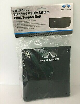 New Pyramex Safety Bbs200m Weight Lifters Back Support Belt - Medium Black