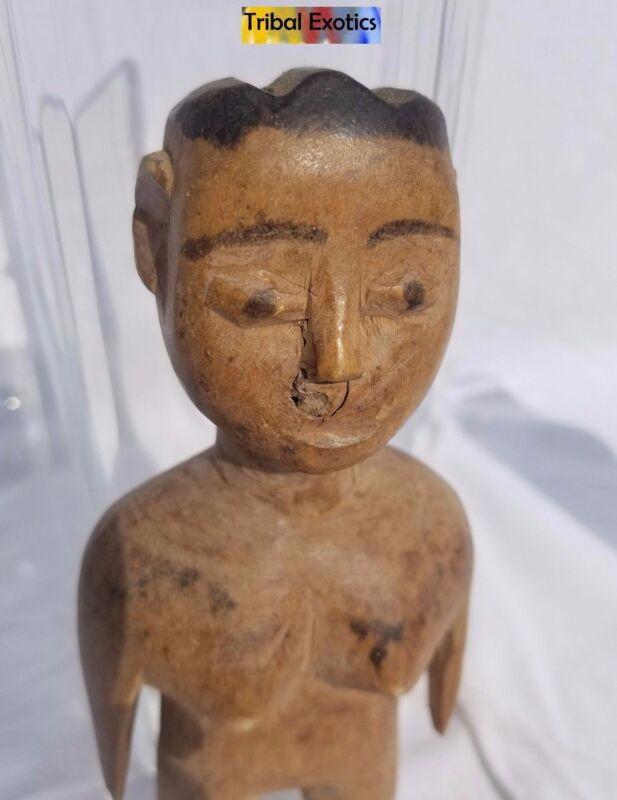 CAPTIVATING Ewe Aklama Shrine Figure Sculpture Statue Mask Fine African Art