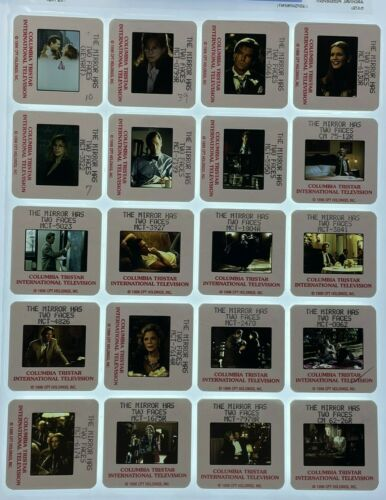 20 The Mirror Has Two Faces Movie 35mm Slides Barbra Streisand Promo Lot #1