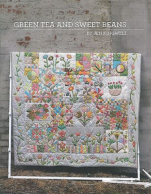 Green Tea And Sweet Beans Quilting Pattern Booklet By Jen Kingwell