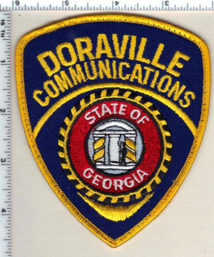 Doraville Police (Georgia) Communications Uniform TakeOff Shoulder Patch - 1997