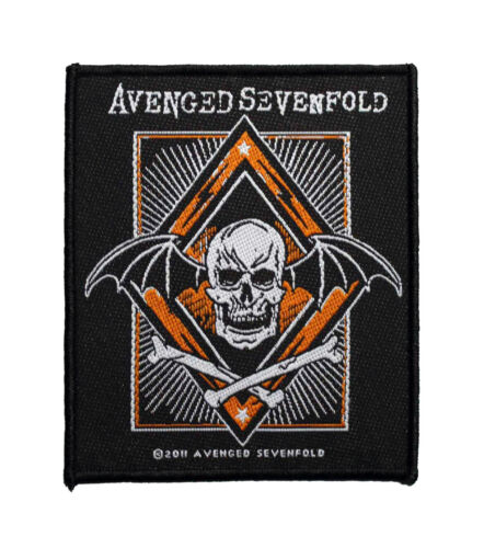 Avenged Sevenfold Redux Woven Sew On Battle Jacket Patch - 092