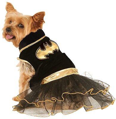 Haustier Hund Katze Batgirl Batman Superheld Halloween Kostüm Outfit Verkleidung (Haustier Katze Kostüme Batman)