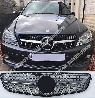 Mercedes C w204 Limousine,Kombi,Coupe Grill, Star/Diamant/Einzel Fin, AMG gebraucht kaufen  Versand nach Germany