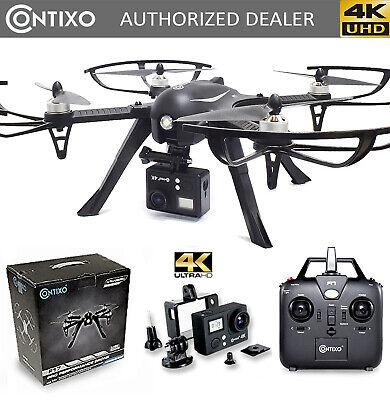 Contixo F17+ Best 2020 GPS Drone with UHD Camera 4K Wifi FPV Follow me, Selfie