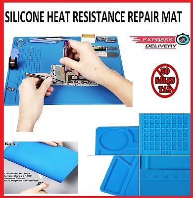 Heat Insulation Silicone Repair Mat Pad Phone Platform Soldering Magnetic Resist