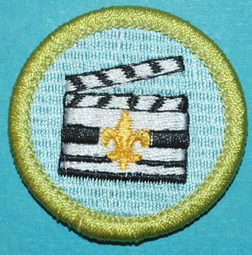 MOVIE MAKING TYPE L MERIT BADGE CINEMATOGRAPHY  SINCE 1910 BACK   BOY SCOUT Y436