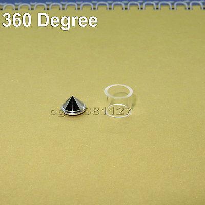 Laser Reflecting Reflecting Cone Lens With Quartz Tube Circle Laser Line