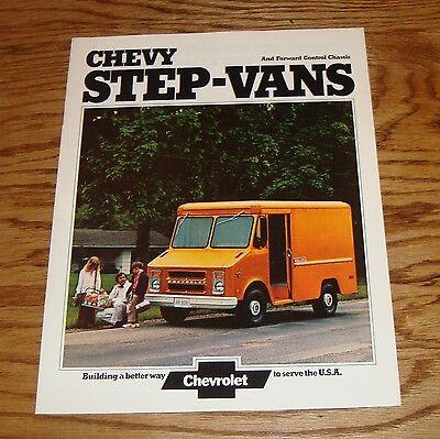 Original 1974 Chevrolet Step-Van & Forward Control Chassis Sales Brochure 74  Chevrolet Forward Control Chassis