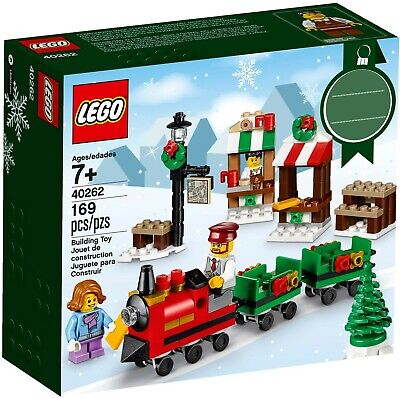 LEGO 40262 NEW Christmas Train car amusement park Ride 3 Minifig engineer child