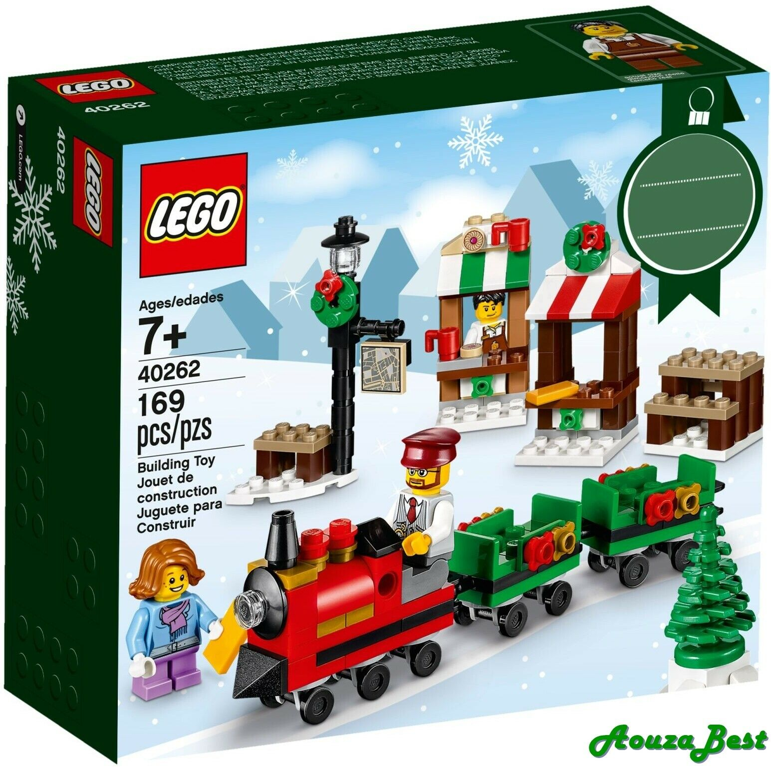 Lego Holidays 40262 Seasonal Lego Christmas Train Ride New B